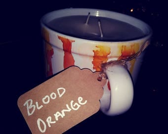 Blood Orange Mug Candle 16 oz
