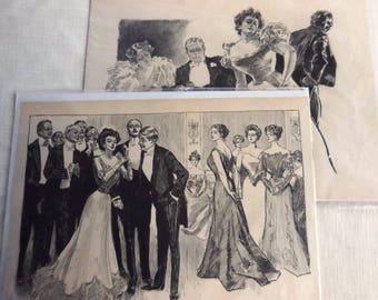 Charles Dana Gibson Prints