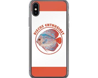 Aquarium Fish Lover's iPhone Case - Gift for Discus Fish Lovers - Discus Enthusiast
