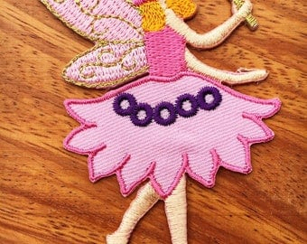 Angel Embroidered Applique Iron on Patch New