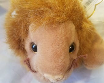 Authentic Ty Beanie Baby Roary lion style 4069