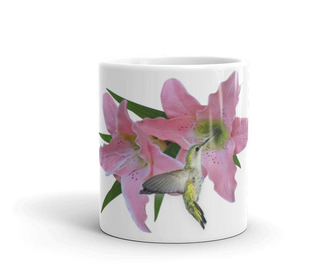 Hummingbird Coffee Mugs for Coffee Lovers, Gifts for Teachers, Mom, Friend, Grandma, Ceramic, Girls, Women, CoffeeShopCollection