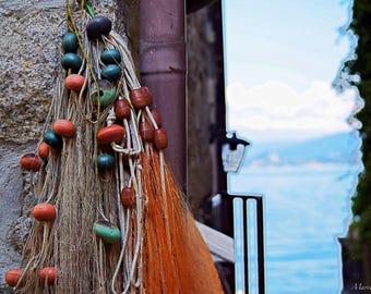 Fishermen's island  ( Isola dei pescatori , Lake Maggiore ,Piedmont - Italy )