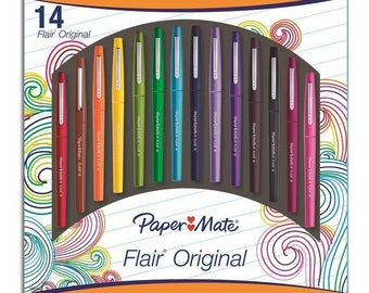 Paper Mate 14 Pack of Flair Pens