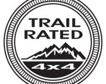 Trail Rated Decal