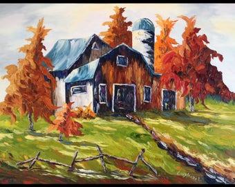 The Pomerleau farm