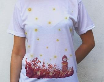 Setsuko & Fireflies T shirt