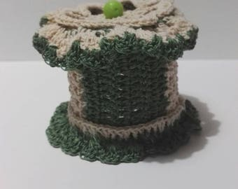Crochet Jewellery Box