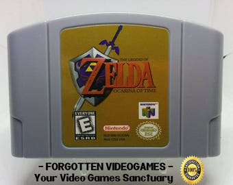 Legend Of Zelda Ocarina Of Time - N64 Nintendo 64