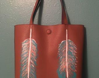 Feather Purse