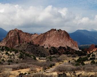Colorado Landscape Photography / Colorado Landscape Photo / Colorado Photo / Garden of the Gods / Mountains Photography / Colorado Springs