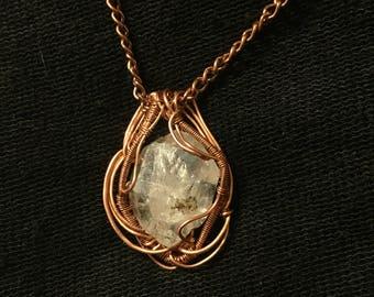 Copper Herkimer vibrations