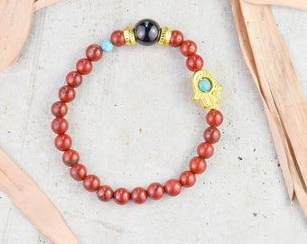Healing Bracelet Beaded Bracelet Mens Bracelet Mala Bracelet Meditation bracelet Yoga Bracelet Women Bracelet Women Bracelet  Mens Bracelet