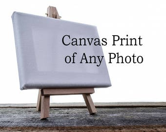 Gallery Canvas Print of Any Photo