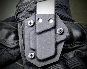 M and P Bodyguard 380 Kydex IWB OWB Mag Holster Magazine Carrier Pouch Black