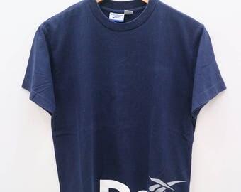 REEBOK Sportswear Blue Vintage Tee T Shirt