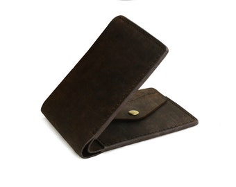 Denali Hand Made Full Grain Leather Wallet