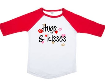 Hugs and Kisses valentines shirt