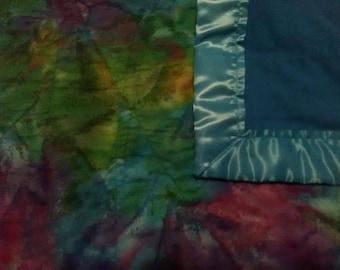 Tye-Dye Baby Quilt