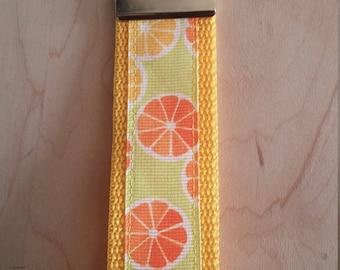 Wristlet Key Fob - Citrus