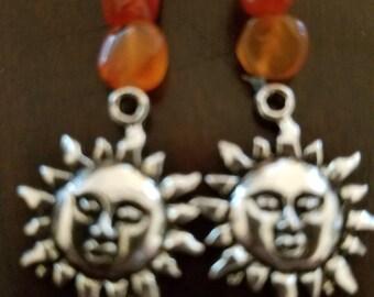 Sun Power Crystal Earrings