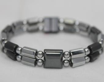 High Quality Therapeutic Magnetic Bracelet Magnetite NOT Hematite  Handmade