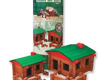 Paul Bunyan 150 pc. Deluxe Building Set
