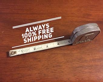 8 ft Lufkin tape measure.