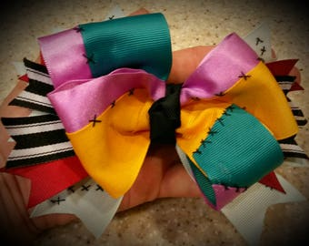 Nightmare before Christmas Sally hairbow