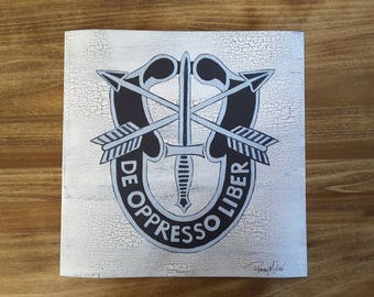 Special Forces Crest Poster