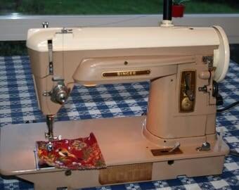 Singer Sewing Machine 404 Vintage All Metal Gears