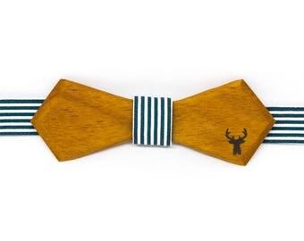 Bow tie wooden - bilinga