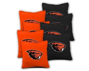 Oregon State Beavers Cornhole Bags - Set of 8