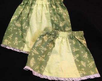 Alien invasion skirt!