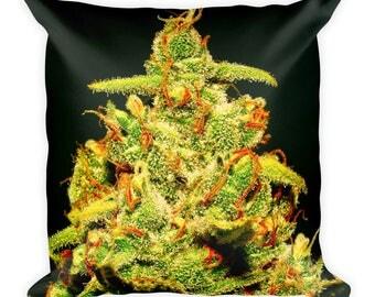 Weed Super Lemon Haze Pillow