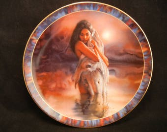 Fulfillment Plate / By LEE BOGLE Bradford Exchange fourth Issue