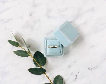 Velvet box for ring   Arctic   Engagement   Wedding
