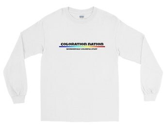 Coloration Nation Long Sleeve T-Shirt