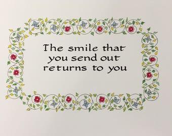 The Smile Fine Art Print