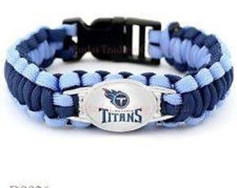 TENNESSEE TITANS Paracord Bracelet