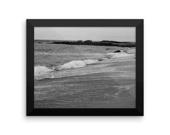 Framed Atlantic Ocean Print