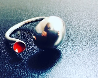 Sterling Silver Statement Ring #7