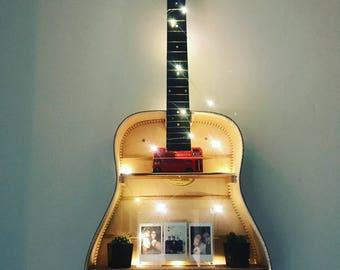 Custom Made Guitar Shelf for Wall