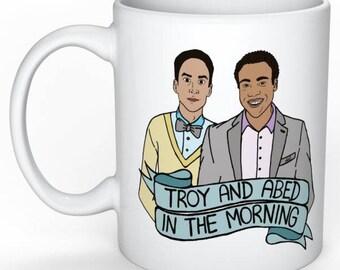 Troy and Abed Community Mug