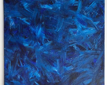 Blue Flame (Painting)