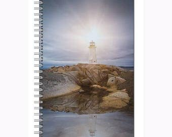 Peggy's Cove Nova Scotia Notebook