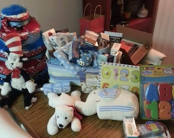 Diaper Cakes & Gift Baskets
