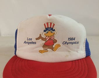1984 Los Angeles Olympics Truckers Hat