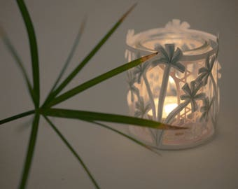 Papyrus candle