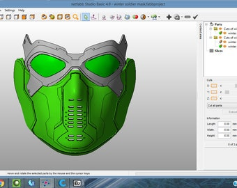 Winter Soldier 3D Printable Mask